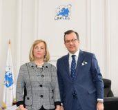 The Ambassador of The former Yugoslav Republic of Macedonia visits SELEC